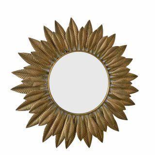 MIRROR SHEETS GOLD METAL-CRISTAL 80.50 X 3 X 80.50 CM
