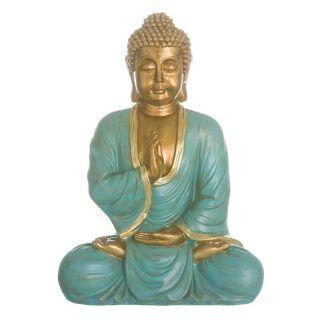 FIGURE BUDDHA POLYRESIN DECORATION 30.50 X 21 X 40 CM