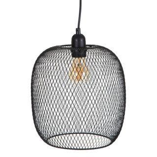 LAMP CEILING BLACK METAL LIGHTING 25 X 25 X 25 CM