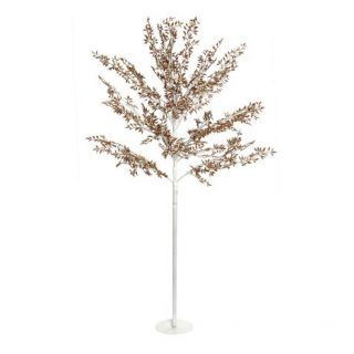 CHRISTMAS ARBOL WITH METAL LED 90X150 180 GOLD IP44 LEDS