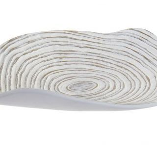 CENTER TABLE TAVOLA 39.5X7.5 WHITE DECAPE