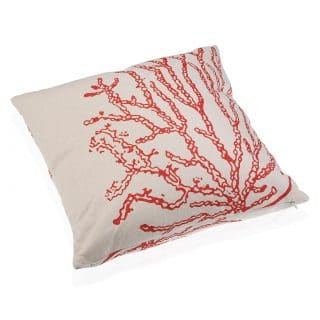 CORAL RED COJIN 45X45