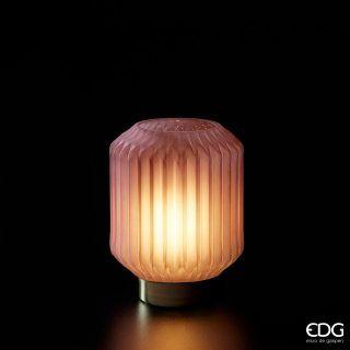 LAMPARA LED BASE ORO H17 D13 CM.