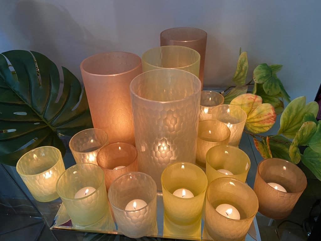Gift 20 years Candle holders